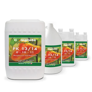 PK 13/14 - Hydroponic nutrient solution - Natural derived phosphorous & potassium for maximum flowering - Complete Hydroponics
