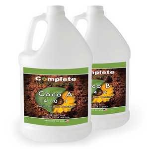 Coco A&B - Hydroponic Nutrient Solution -  Perfect for Coco Coir Systems (Enhanced with Cal-Mag) - Complete Hydroponics