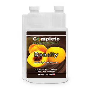 Density - Hydroponic Nutrient Solution - Bloom Enhancer (promotes plants' sugars, resins, and oils) - Complete Hydroponics