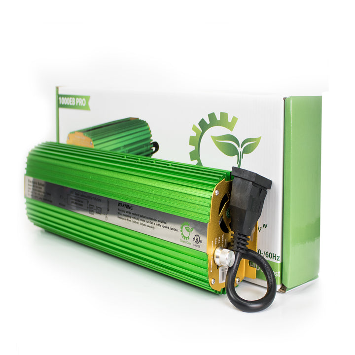 Dimmable Electronic HID Ballast - 1000W/600W/400W/Hydroponic Equipment/Green Gear - Complete Hydroponics