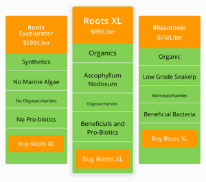 Roots XL - hydroponic nutrient solution - Enhance plant's root system for bigger & better roots - Complete Hydroponics