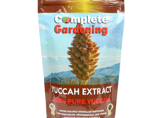 Yuccah Extract - Soil Amendment - 100% natural yuccah extract/Facilitates nutrient absorption - Complete Hydroponics