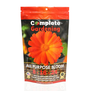 All Purpose Bloom (8-16-24) - Organic Fertilizer - Promotes plant's flowering process - Complete Hydroponics
