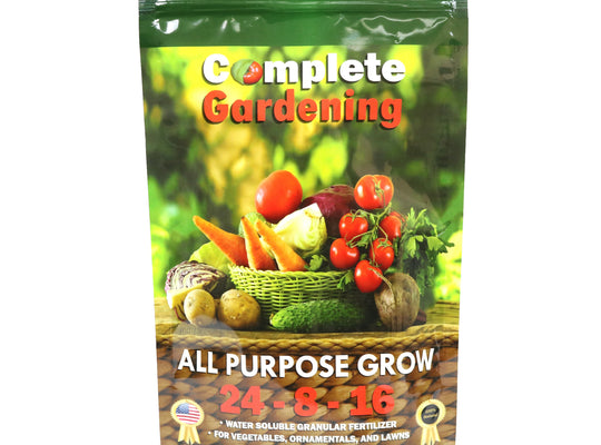 All Purpose Grow (24-8-16) - Organic Fertilizer - Helps your plants grow faster & stronger - Complete Hydroponics