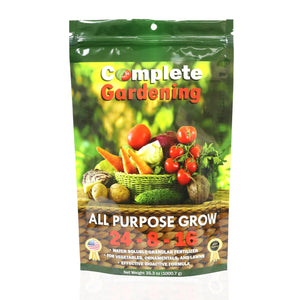 All Purpose Grow (24-8-16) - Natural & Organic Fertilizer - Helps your plants grow faster & stronger - Complete Hydroponics
