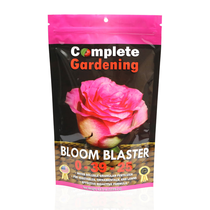 Bloom Blaster (0-39-25) - Organic Fertilizer - Maximizes fruiting and flowering. - Complete Hydroponics