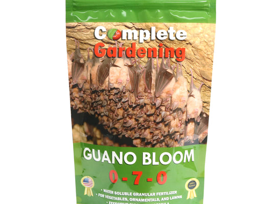 Guano Bloom (0-7-0) /Organic Soil Amendment /Promotes exceptional flower and fruit development - Complete Hydroponics