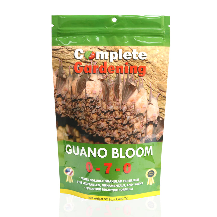 Guano Bloom (0-7-0) - Soil Amendment - Promotes exceptional flower and fruit development - Complete Hydroponics