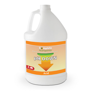 pH Down - Hydroponic Nutrient Solutions - Powerful pH Adjuster - Complete Hydroponics