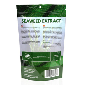 Seaweed Extract (0-0-14)/Organic Fertilizer/Encourages thriving root, stem,foliage growth and more - Complete Hydroponics