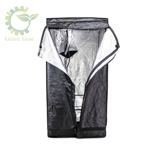 Green Gear Tents 2x2/2x4/4x4/Hydroponic Equipment/Highly reflective & properly insulated material - Complete Hydroponics
