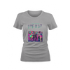 Life Is Lit Grey T-Shirt Bundle (Womens)