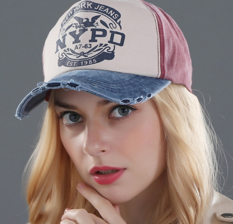 Salute NYPD Vintage Baseball Cap