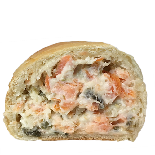 Smoked Salmon & Cream Cheese Cachito