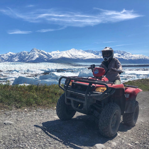 Alaska Glacier ATV Ride