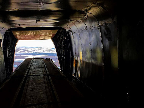 alaska bush plane cargo door open