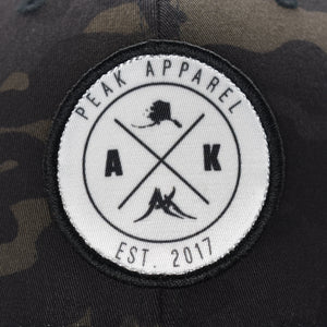Peak Apparel Cloth Patch Hat - Snapback