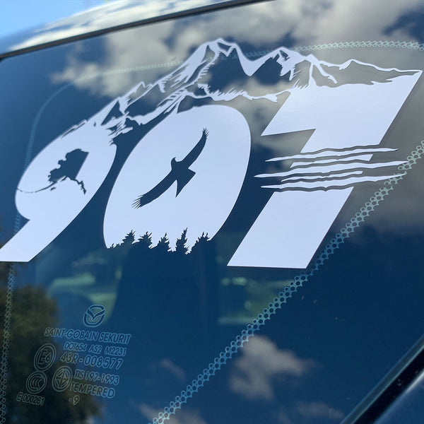907 Wildlife Decal