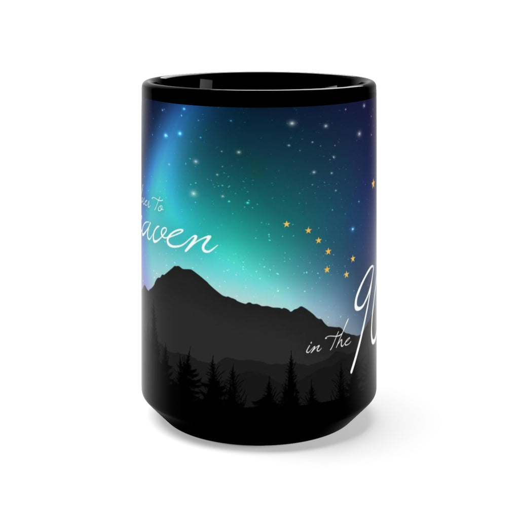 Closer to Heaven Mug - Black 15oz.