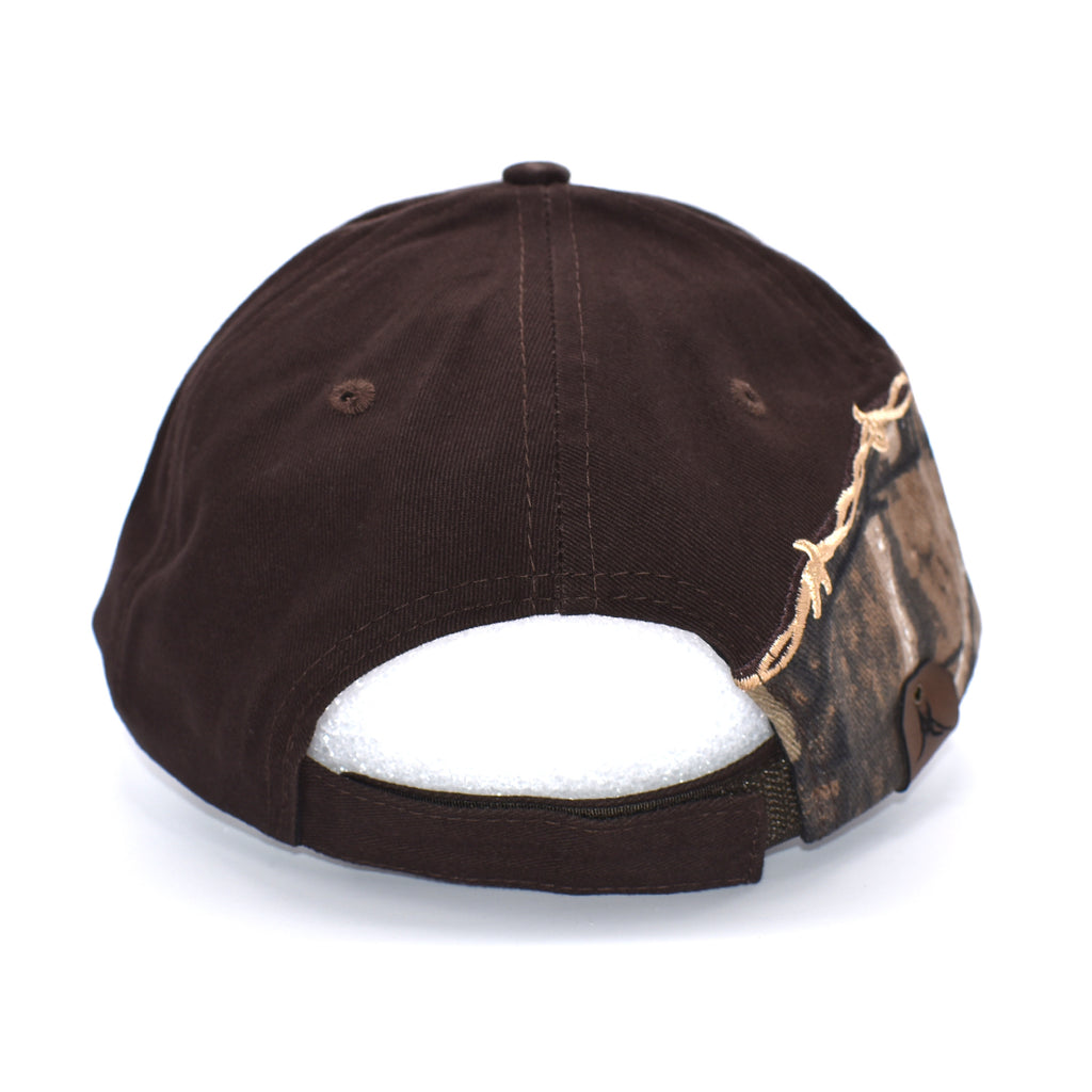 Alaska State Outline Hat - Barbed Wire Camo