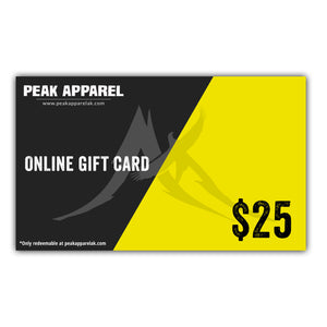 Peak Apparel Online Gift Card