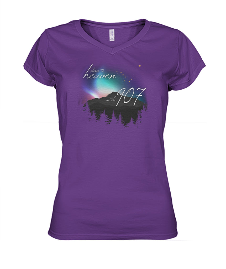 Closer to Heaven V-Neck Shirt Women's Cut