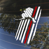 Alaskan Patriot Firefighter Support Decal
