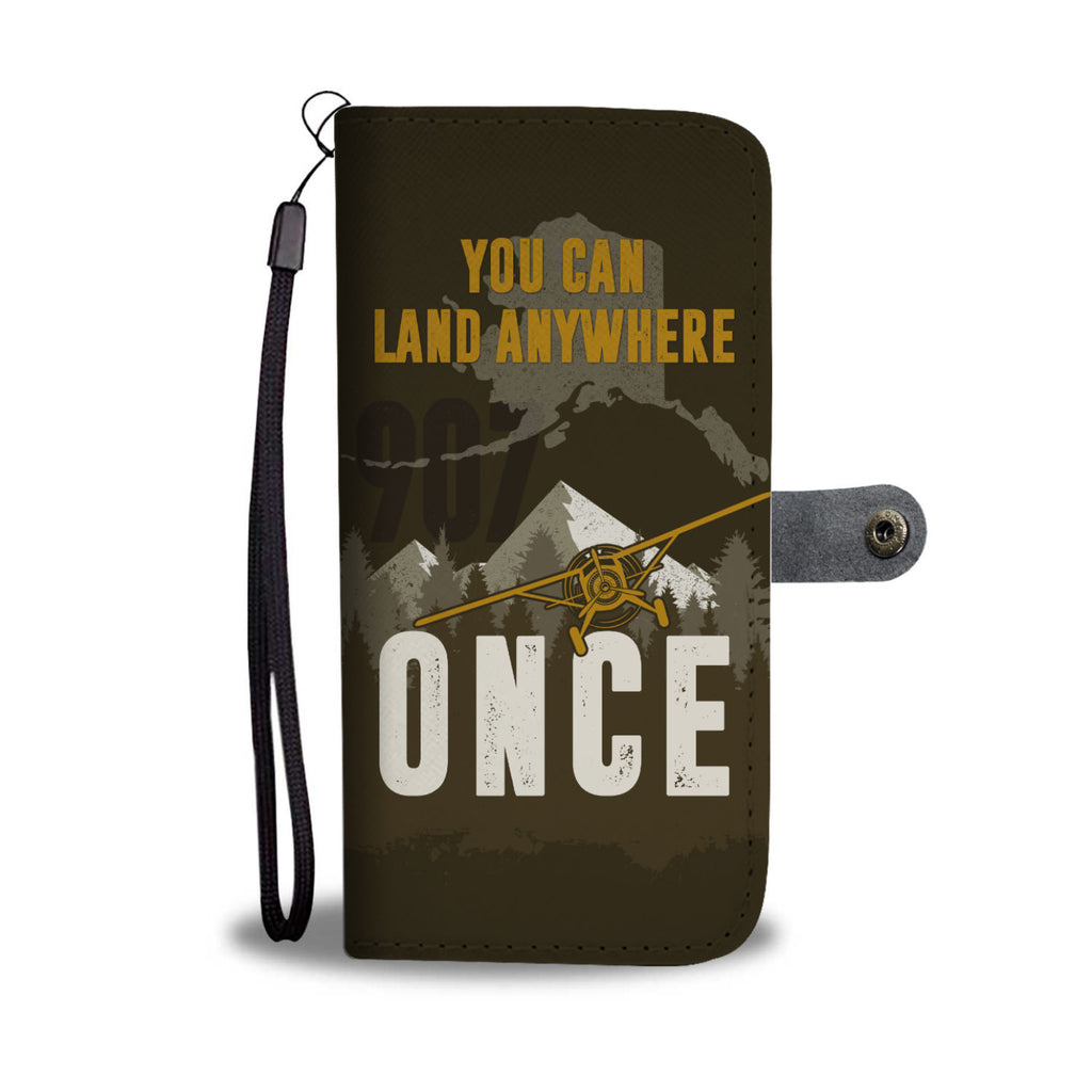 Land Anywhere Wallet Phone Case