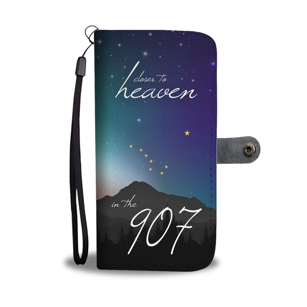 Closer to Heaven Wallet Phone Case