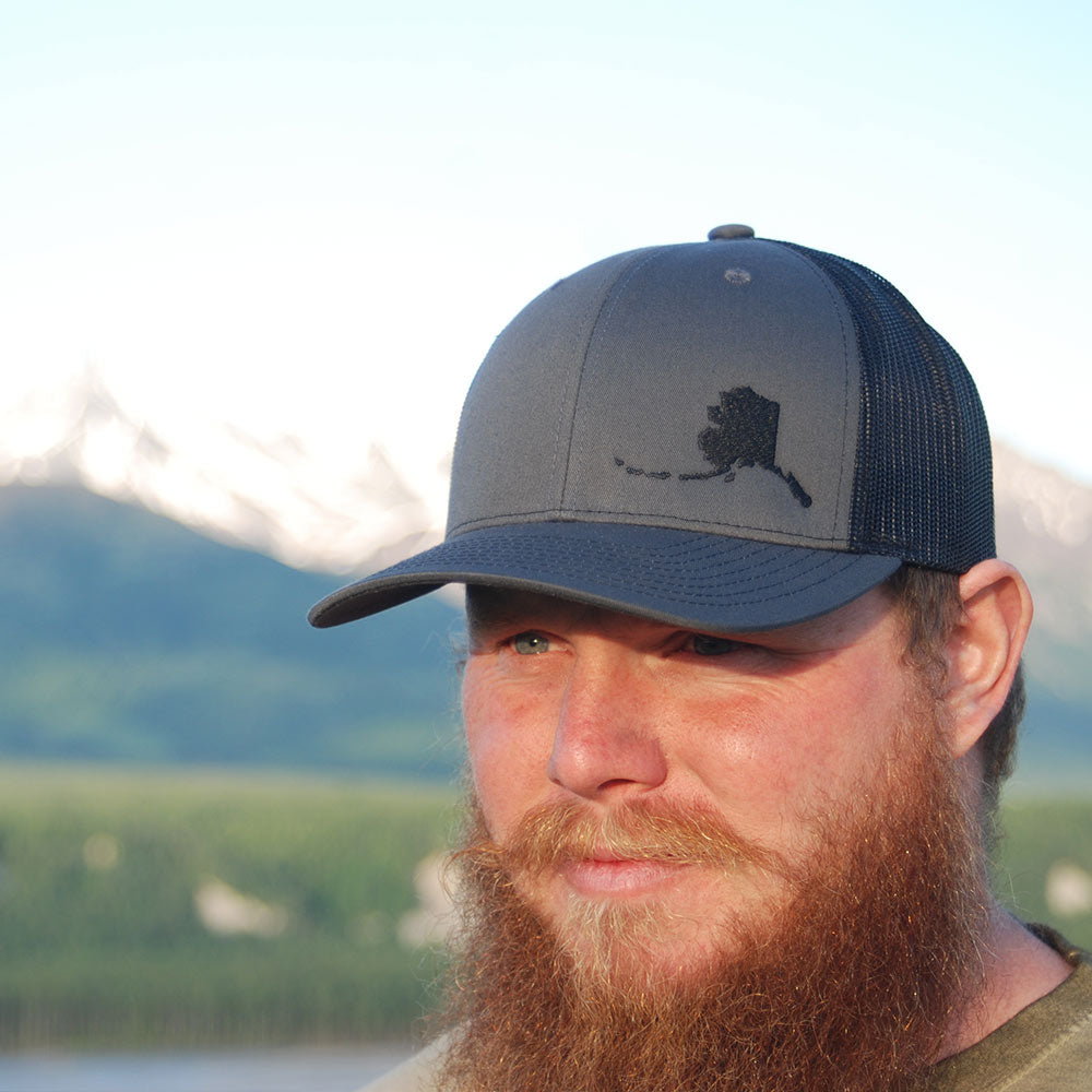 Alaska State Outline Hat