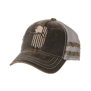 Patriot Frayed Hat