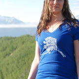 Alaska Love Women's V-Neck Shirt