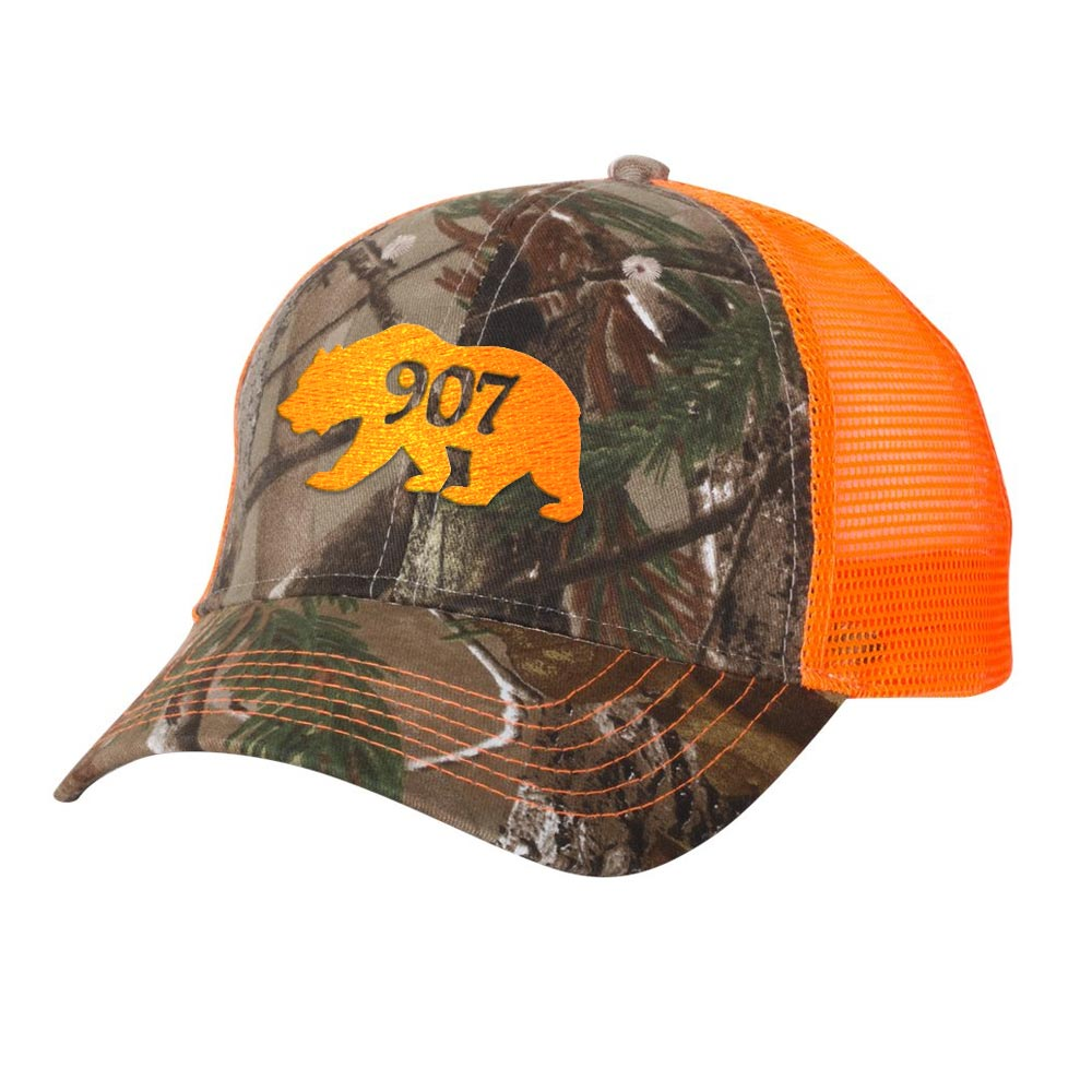 Alaskan Bear 907 RealTree Camo Trucker Hat