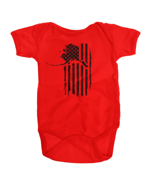 Patriot Onesie Dark Logo