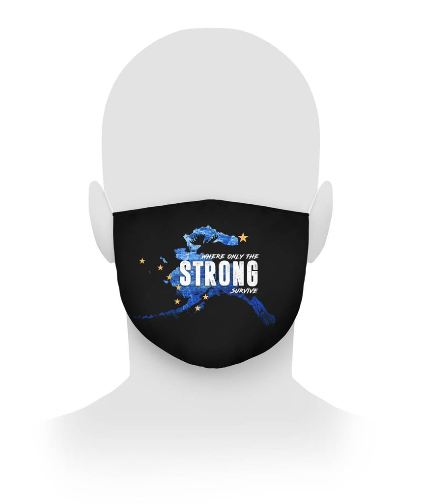 Alaska Strong - Cloth Face Mask