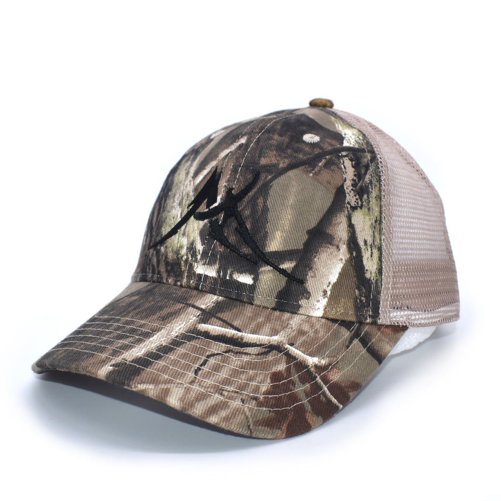 Peak Apparel RealTree Camo Trucker Hat