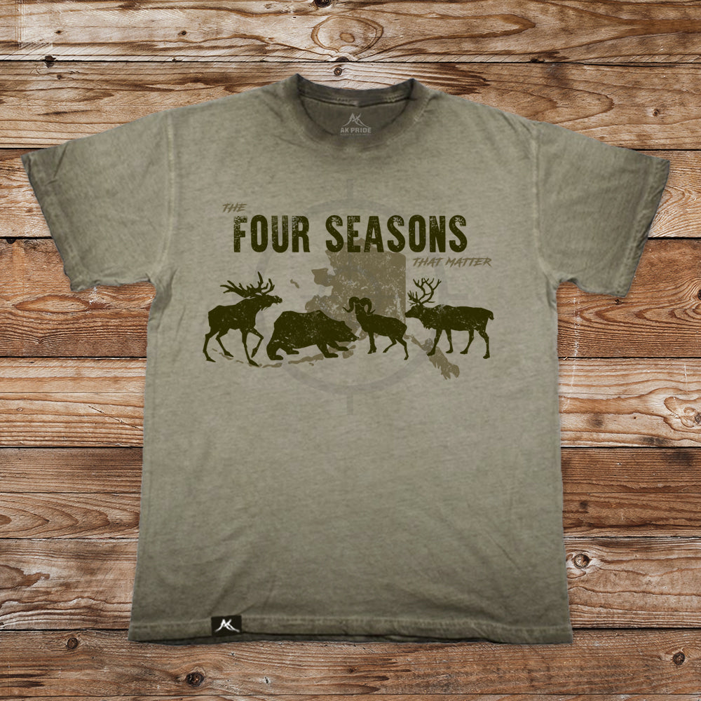 Four Seasons Vintage Washed Shirt
