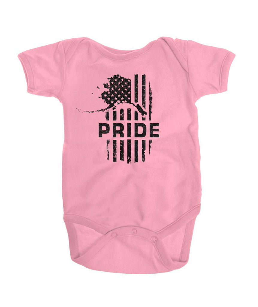 Patriot PRIDE Onesie Dark Logo