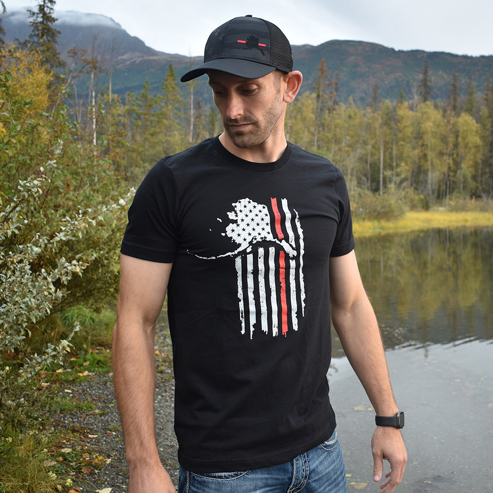 Alaskan Patriot Firefighter Support Shirt