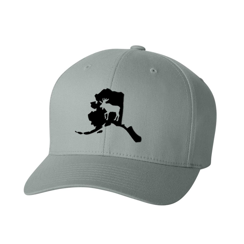 Alaska State Moose FlexFit Hat