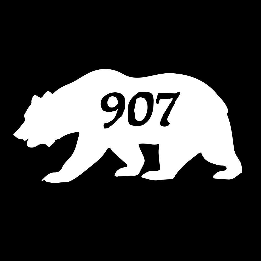 Alaskan Bear 907 Decal