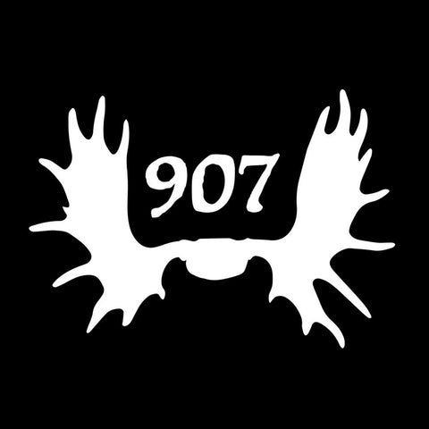 Moose Antlers 907 Decal