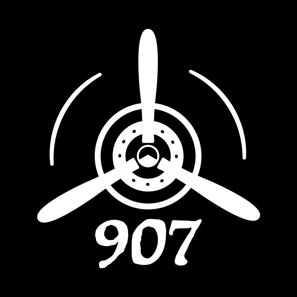 Alaskan Pilot Propeller 907 Decal