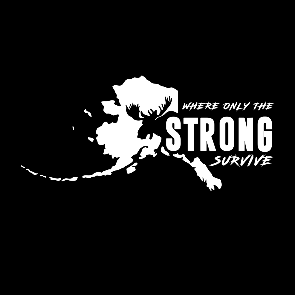 Alaska Strong Survival Decal