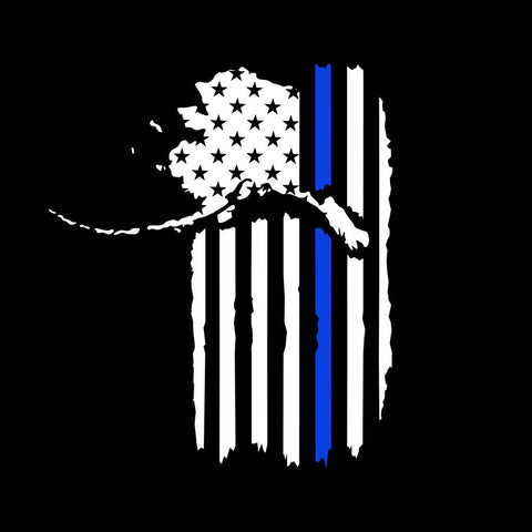 Patriot Police Support Decal