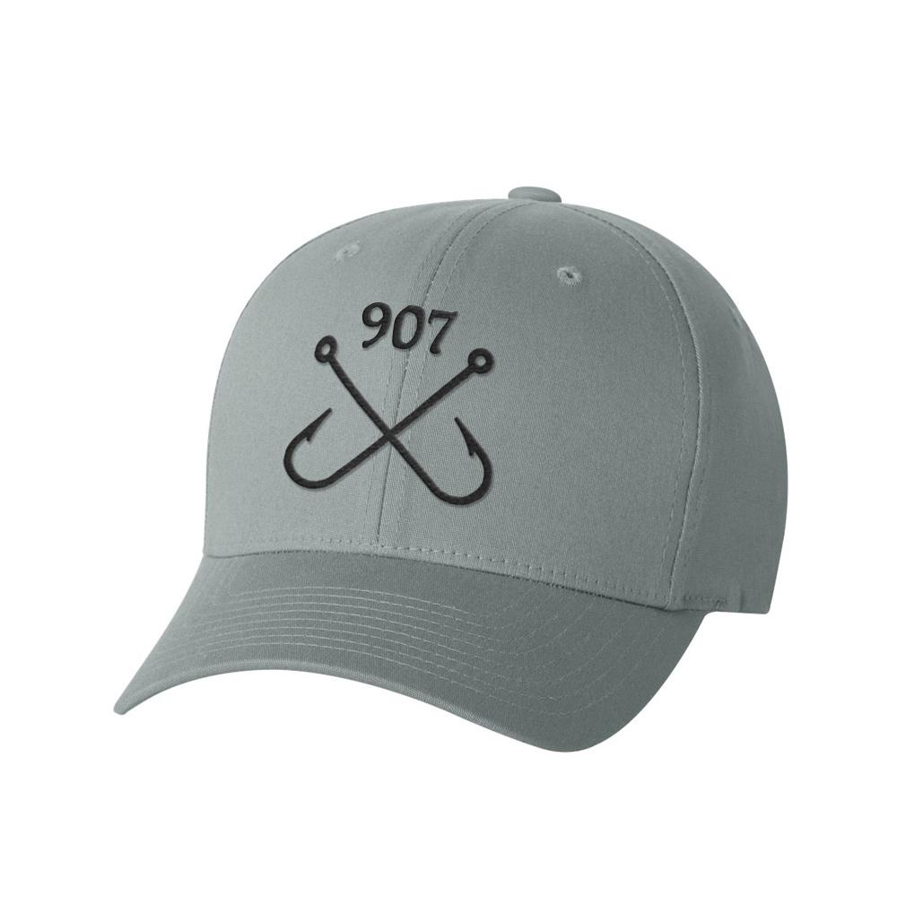 Fishing Hooks FlexFit Hat