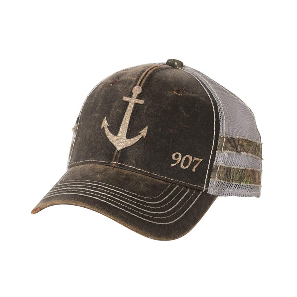 Anchor Frayed Hat