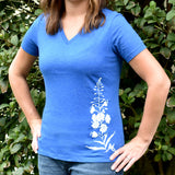 Fireweed V-Neck Tee
