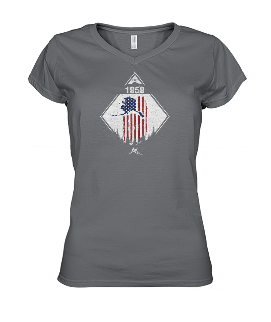 Patriot 59 V-Neck Shirt Women's Cut