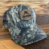 AK Pride Logo Leather Patch Hat - Camo